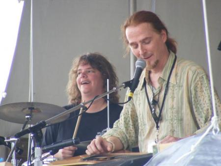 At Falcon Ridge Folk Festival, July 28, 2007